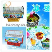 Chinese Ice Porridge Cabinets in International Market