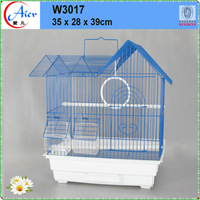 chain link fencing birds cage bow front bird cage