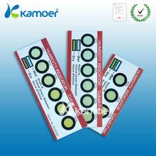 Six Dots Hygrometer Humidity Indicator Card