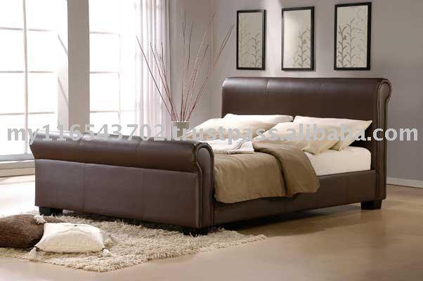 Lit de tapisserie d 39 ameublement meubles de chambre - Tapisserie de chambre a coucher ...
