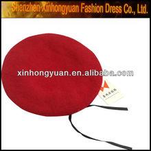 militar red cap boina chapéu