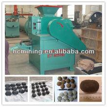 Briquette machine for coal, charcoal, lignite, aluminum powder