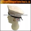 สีขาวในรูปแบบของหมวกเบเร่ต์ทหาร