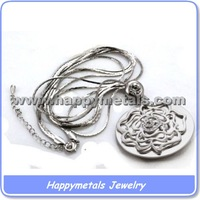 Hot sale hello kitty necklace finished in 316L stainless steel(AA467)