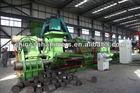hydraulic metal swarf briquetting press