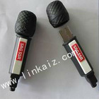 custom PVC microphone 8gb 4gb 2gb usb flash drive,usb stick