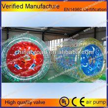 Durable colorful PVC/TPU light water barrel