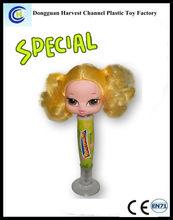 Lovely Plastic Barbie Ballpoint Pen For Girl or Promotion