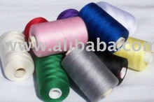 100% spun polyster sewing thread in cone form.