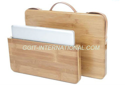 Natural Bamboo Hard Cover Case for iPad