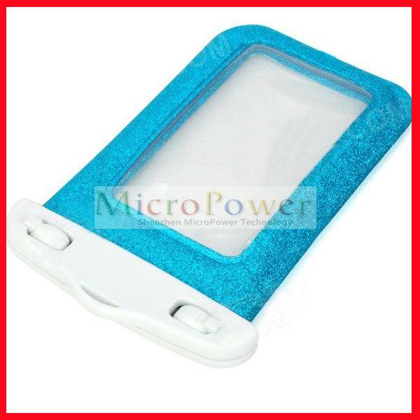 Waterproof Bag for iPhone 5 / 4 / 4S - Blue