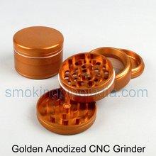 anodized aluminium weed grinder