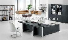 2013 office furniture manager desk,office furniture executive desk,black office desk was made of melamine board