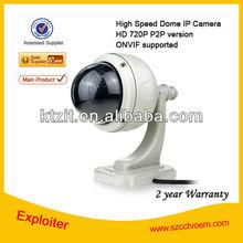 HD 720P IP Camera/ONVIF IP Camera/P2P IP camera/3*Optical Zoom/High Speed Dome