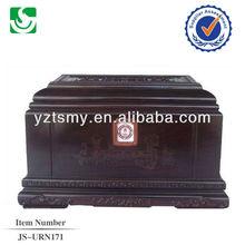 antique solid wood urns JS-URN171