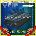 Concurrentiel 8/16/32/64 ports modem gsm, bulk sms, sms modem sms en vrac fournisseurs