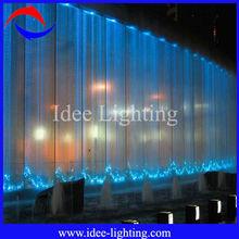 PVC Multi-color fiber optic LED curtain