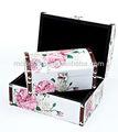 2013 baratos flor de diseño para el hogar de almacenamiento caja de madera caja de regalo