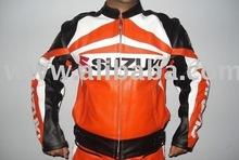 New Stylish GSXR SUZUKI Brand Motorbike Leather Jacket