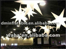 hot selling party decoration inflatable stars led lights