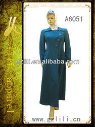 2013 latest fashion design baju kurung for lady (A6051)