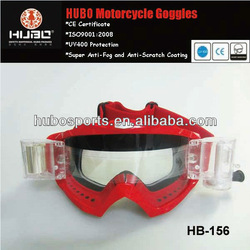 China wholesale MX motorcycle goggle with roll off