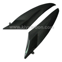 Carbon lateral tank covers motorcycle spare parts for Yamaha r6