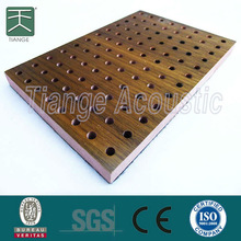 MDF acoustic perforated ceiling tiles