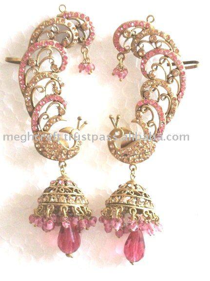 Wholesale Victorian Earrings Imitation E Rhinestone Earring Victorian Jewelry Bollywood