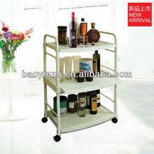 BONUNION kitchen dish trolley kitchen cart1210-C