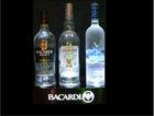 uk beer wines and spirits/magnetic floating bottle display/led bottle glorifier