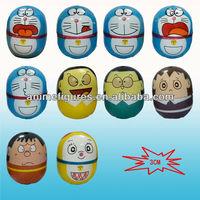 10 Styles Doraemon rolypoly toy
