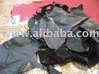 Baby calf VEGETABLE genuine leather scraps