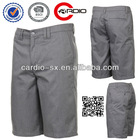 Heather grey Contact Shorts 35% Cotton tight cotton shorts 65% Polyester recycled polyester shorts