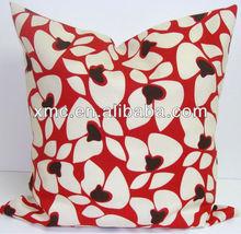 Home Leisure Sitting Room Chair Print Fabric Cushion Cover