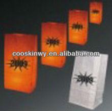 Creative Fire-retardant colored luminary candle bags