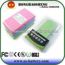 news 2013 smartphone battery 13200mah power bank