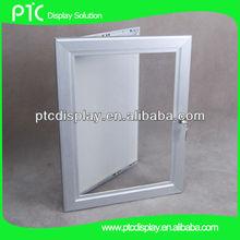 Lockable click snap frames,poster frame