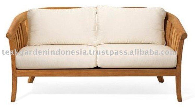 Outdoor natural teak wood sofa buy teak wood sofa teak outdoor