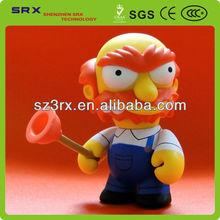 OEM Vinyl Figure/Vinyl Cartoon Toy/Plastic Model Character