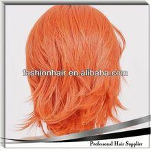 2014 China fashion Cosplay wig,Brazilian virgin hair,Yiwu hair vierge de cheveux