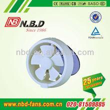 round glass ventilation fan