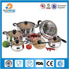 11pcs stainless steel happy baron cookware set