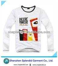Popular promotional t-shirt iron man
