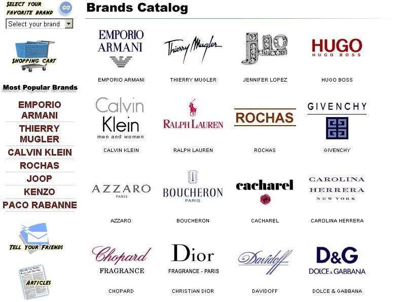 Perfumes & Cosmetics: Designer perfumes in LA