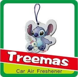 Customized hanging paper air freshener car japanese