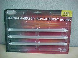 Halogen Heater Replacement Bulbs