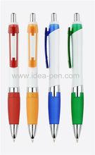 promotional click plastic soft grip pens
