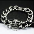 2014 venta al por mayor de moda de acero inoxidable pulsera de enlace de la cadena de la mano al por mayor pulsera pulsera de samoa oem