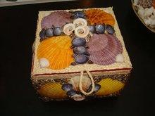 Natural Sea Shells Jewelry Box